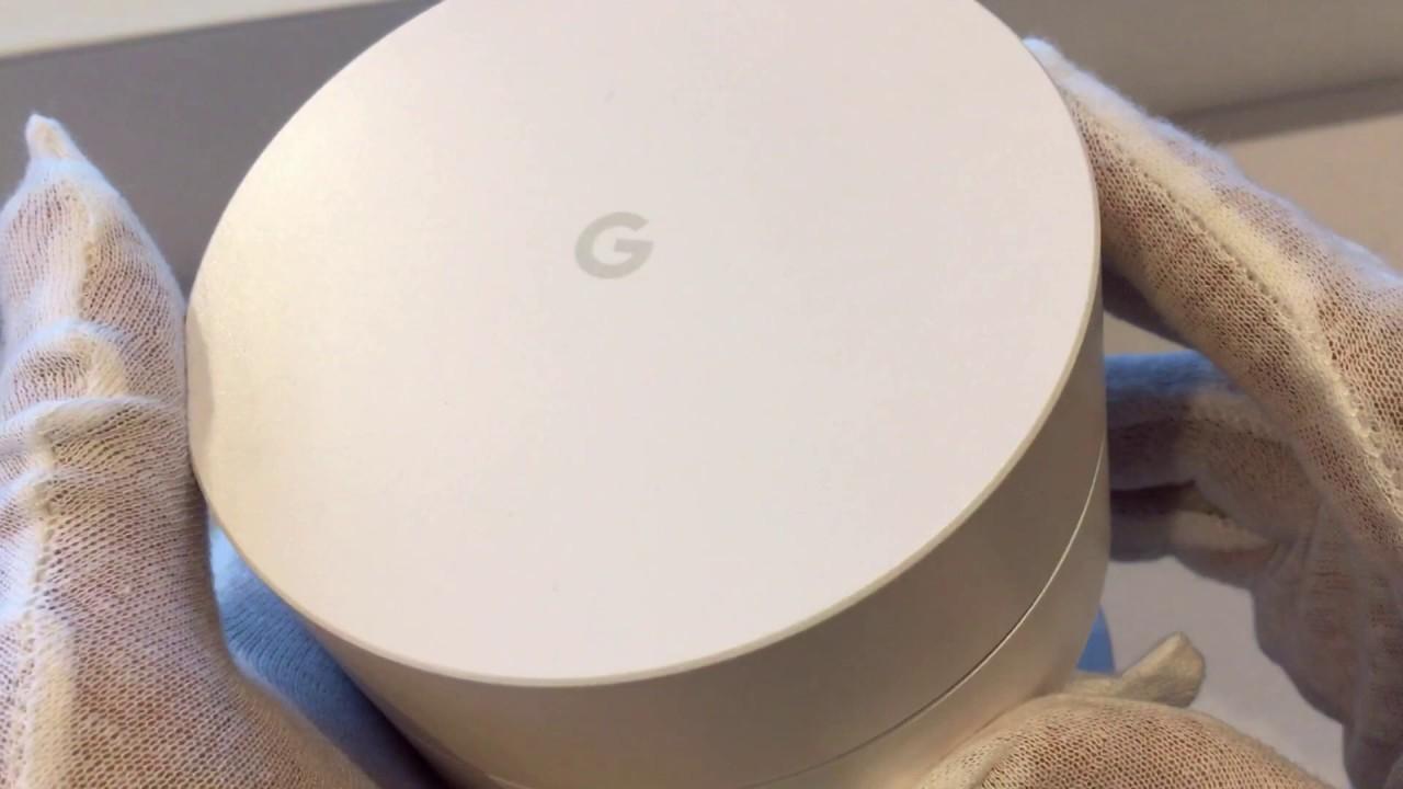 Google Wifi 3 Pack GA00158-US 9 Unit Device setup (06-2019)