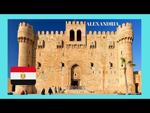 EGYPT: The PHAROS (LIGHTHOUSE) OF ALEXANDRIA & the FORT of QAITBAY