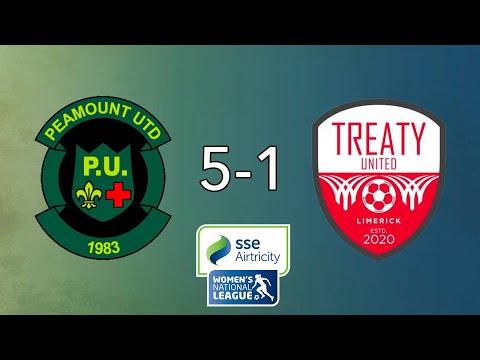 WNL GOALS GW14: Peamount United 5-1 Treaty United