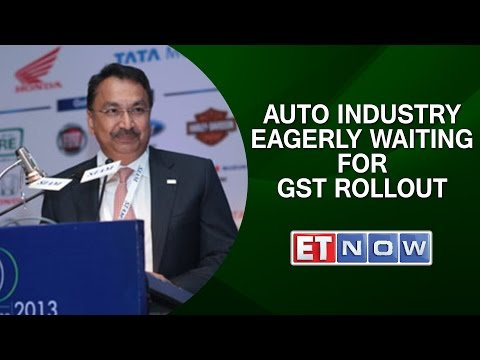 SIAM President Vikram Kirloskar: Auto Industry Eagerly Waiting For GST Rollout