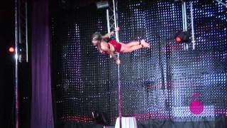 Greta Pontarelli NAPA Pole Dancing Competition