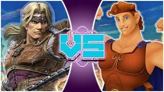 SIMON BELMONT vs HERCULES! (Castlevania vs Disney) | REWIND RUMBLE BONUS