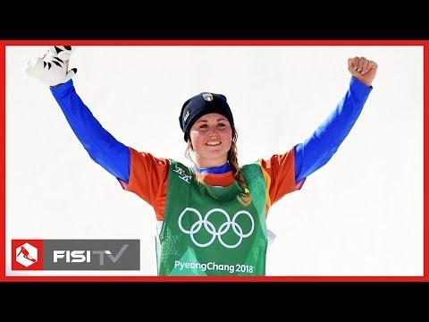 Oro a Pyeongchang! Michela Moioli trionfa nello Snowboardcross | Snowboard | FISI TV