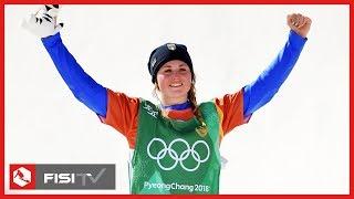 Michela Moioli medaglia d'oro nell'SBX a Pyeongchang