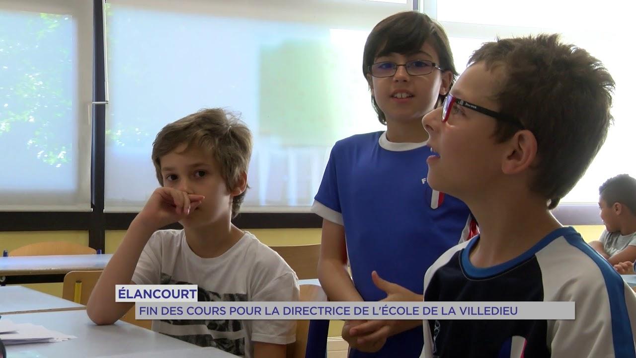 Elancourt : fin des cours pour la directrice de l'école de la Villedieu