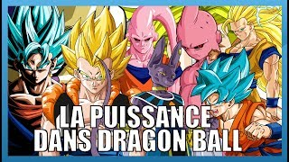 LA PUISSANCE DANS DRAGONBALL - DRAGONBALLOGY #8