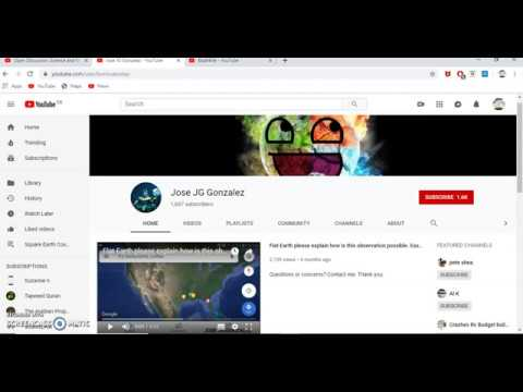 Jose JG Gonzalez is a SCAMMER! - Flat Earth thumbnail