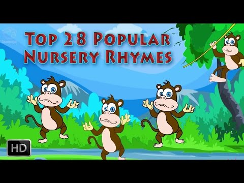 Top 28 Nursery Rhymes - Wheels On The Bus , Jack and Jill , London Bridge and Many More