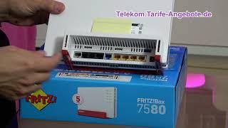 AVM FritzBox 7580 für Telekom MagentaZuhause (DSL, VDSL, Glasfaser)