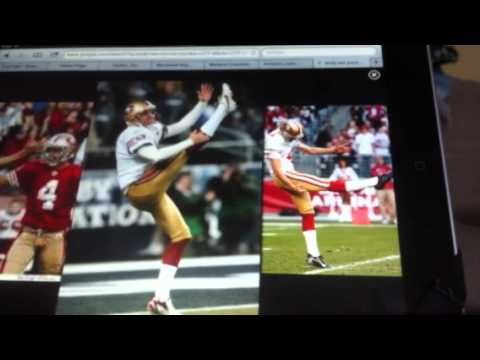 Andy Lee theme song (Master Punter from the San Francisco 49ers) 7/16/12! --funny