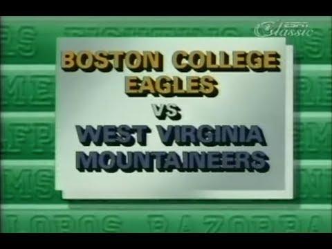 1984 CFB - #19 WVU vs #4 Boston College