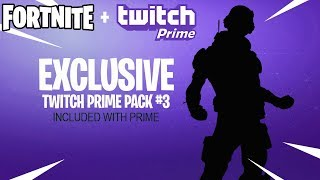 Fortnite Twitch Prime Pack 3 in Season 8...
