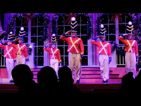 FULL Christmas Celebration stage show at Busch Gardens Tampa Christmas Town, 2017
