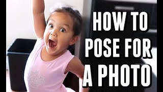 HOW TO POSE FOR A PHOTO! - August 14, 2017 -  ItsJudysLife Vlogs