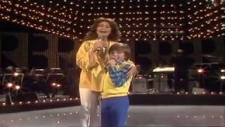 Wencke Myhre & Sohn Dani - Wir beide gegen den Wind 1983
