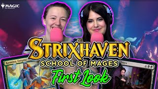 Strixhaven: School of Mages FIRST LOOK! | GLHF Podcast #427 | Magic the Gathering (MTG) Preview