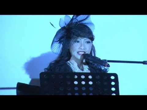 """Hani Singing Her Original Song Composition, """"Let's Make Poverty History!"""" at The ONE(SPORE) Ball"""