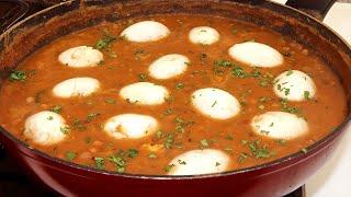 Delicioso Caldo de Ovo com Feijão muito simples e Fácil de Fazer