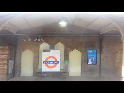 London Overground Class 315 Departing White Hart Lane