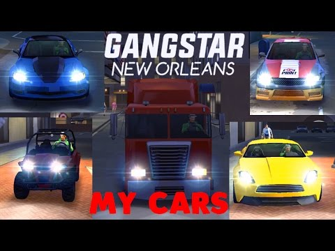 How To Get Level  Cars In Gangstar Vegas