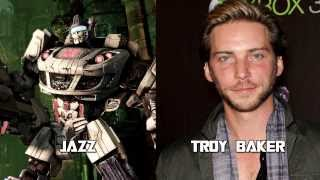 Characters and Voice Actors - Transformers: Fall of Cybertron