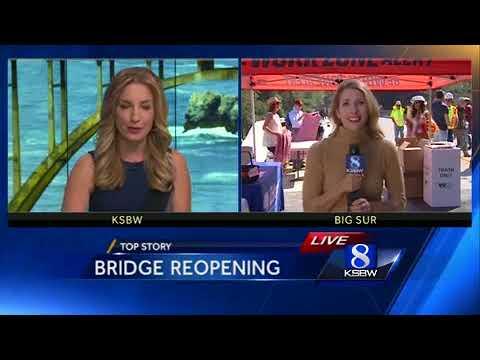 Big Sur celebrates opening of Pfeiffer Canyon bridge