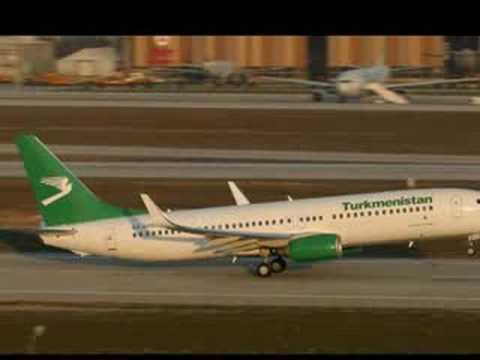 Turkmenistan vs Air Astana (Photos)
