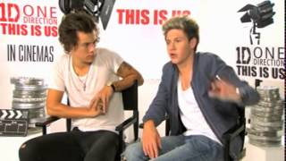 This Is Us Interview: Harry Styles and Niall Horan from One Direction