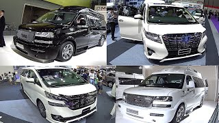 Top 5 large VANs 2016, 2017: Toyota Alphard, Vellfire, GMC, Mercedes Sprinter, Viano