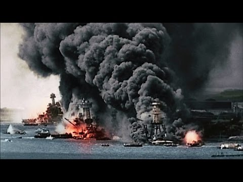 Battle of Pearl Harbor 1941 - Empire of Japan vs USA [HD]