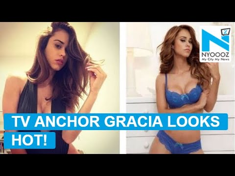 Mexican TV anchor Yanet Gracia looks sexy as AF!