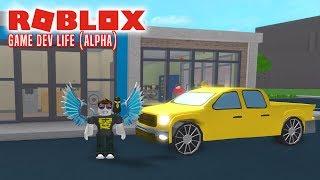 MIN NYE FEDE BIL! - Roblox Game Dev Life Dansk Ep 3 [CARS UPDATE]