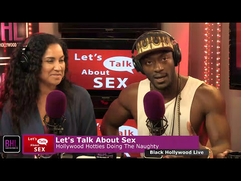 Let's Talk About Sex w/ Aldis Hodge | June 6th, 2014 | Black Hollywood Live