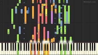 R Kelly - Gotham City (Instrumental Tutorial) [Synthesia]