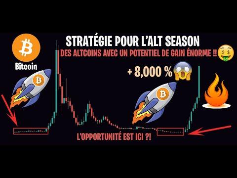 LES ALTCOINS BEAUCOUP PLUS INTÉRESSANTES QUE LE BITCOIN !!! - Analyse Bitcoin Crypto FR Stratégie #6