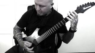 Nightwish Seven days to the Wolves Guitar Playthrough by Darryl Burmeister