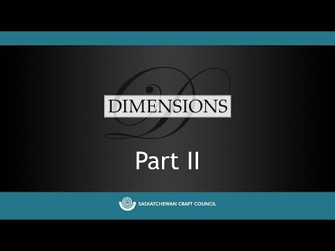 Dimensions 2015 Jurors' Critique Part II