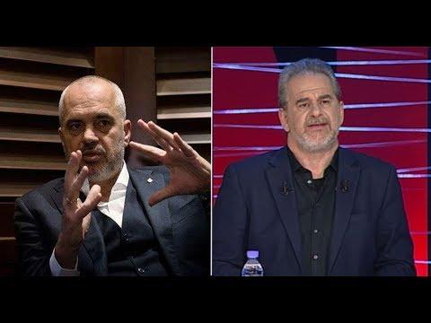 """LIVE/ Edi Rama në emisionin """"360grade"""" të Artur Zhejit në Ora News"""