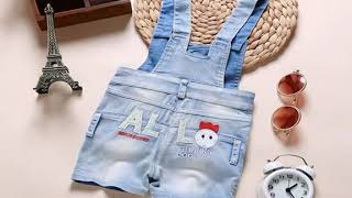 0-4T Baby Clothing Summer Overalls Babe Boys Girls Cotton Shorts