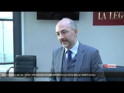 TG VICENZA | 20/01/2020 | PROCESSO MITENI DEFINITA...