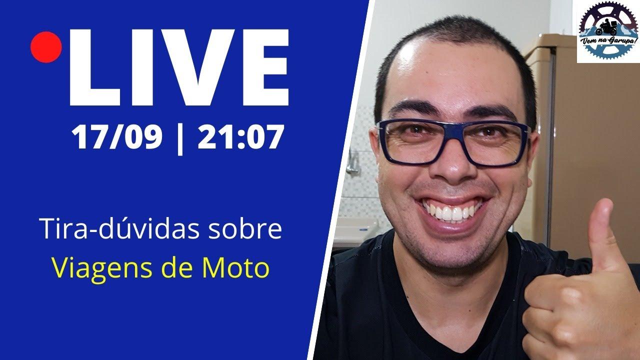 LIVE - Tira-dúvidas sobre Viagens de Moto