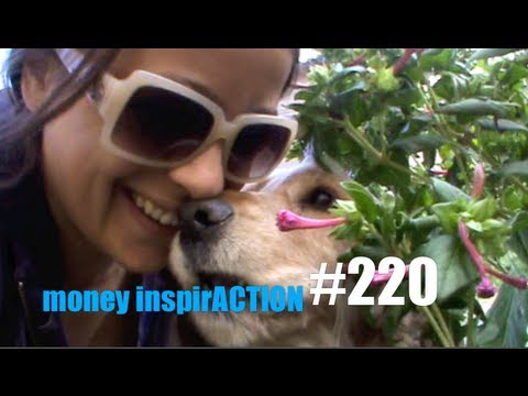 Life in Padern, Rural France: One Girl and her Dog (money inspirACTION#220)