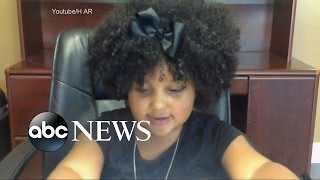 Four-Year-Old Daliyah Marie Arana Hits