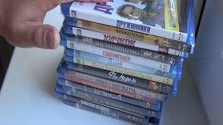 Розпакування 15 Blu ray дисків / Unboxing 15 Blu ray disks