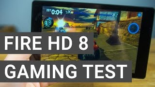 Amazon Fire HD8 (2016) Gaming & Performance Test