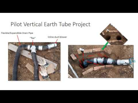 Vertical Geothermal Earth Tube (Part 1) - Greenhouse Heating/Cooling