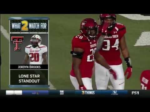 Kansas Jayhawks vs Texas Tech Red Raiders football 2016 Week 5