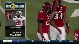Kansas Jayhawks vs Texas Tech Red Raiders football 2016 Week 5