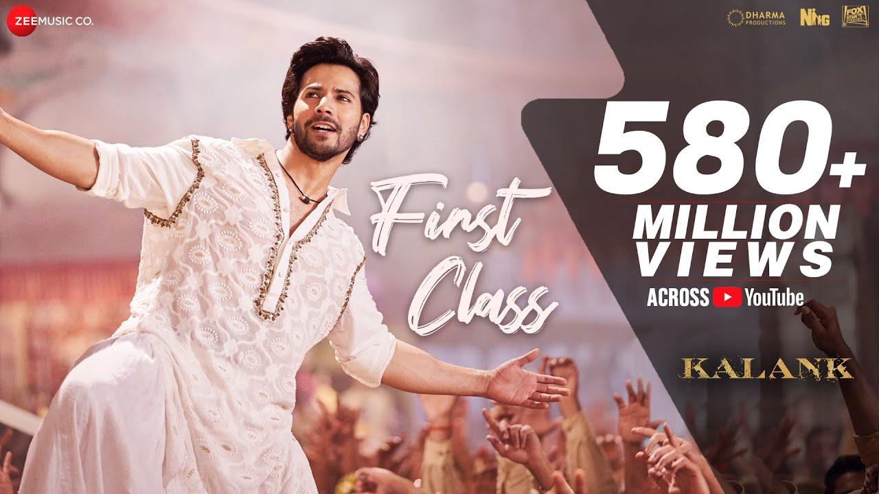 First Class Full Video  Kalank  Varun Dhawan, Alia Bhatt, Kiara  Arijit Singh  Pritam Amitabh