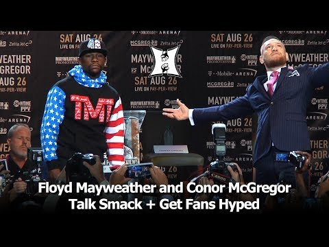 Floyd Mayweather + Conor McGregor: World Tour Stop #1 At Staples Center (FULL 40min / HD)